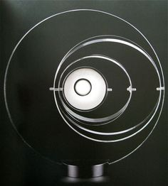 """Satelite Lamp,"" 1969, by Yonel Lebovici, for Pierre Cardin"