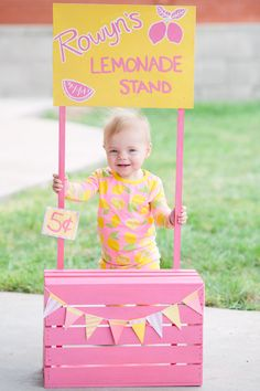 Pink Lemonade 1st Birthday Party via Kara's Party Ideas | KarasPartyIdeas.com