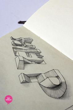 TypoThursday • 3D Typography by Lex Wilson