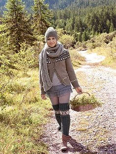 Rundpassenjacke - Kostenlose Strickanleitung von Magdalena Neuner