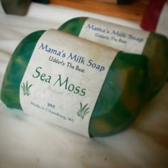 Check out this item in my Etsy shop https://www.etsy.com/listing/182736500/goat-milk-soap-sea-moss-homemade-soap