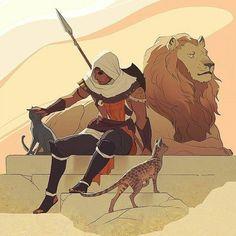 Bayek. Assassin's Creed Origins