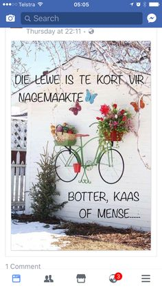 Die lewe is kort Afrikaanse Quotes, Goeie Nag, Doodle Inspiration, Christian Inspiration, Pebble Art, Outdoor Walls, Morning Quotes, Best Quotes, Awesome Quotes