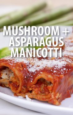 Mario Batali whippped up a Fresh Manicotti with Mushrooms and Asparagus recipe for The Chew's special pasta episode.  http://www.recapo.com/the-chew/the-chew-recipes/chew-marios-fresh-manicotti-mushrooms-asparagus-recipe/