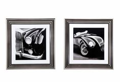 Noble Cars Framed Set - Pictures - Living Room Storage | Bookcases | Furniture Village