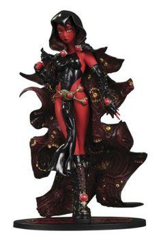 DC Direct Ame-Comi Heroine Series: Raven (Demon Daughter Variant) PVC Figure