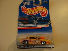 Hot Wheels Yellow Pro Stock Firebird 1999 First Editions 4/36