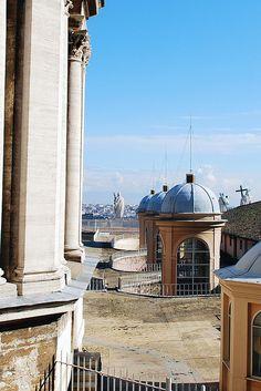roof of Saint Peter's Basilica