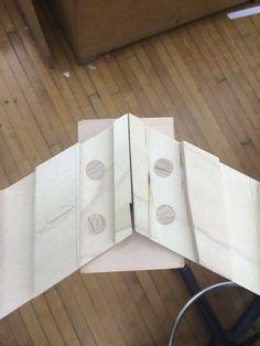 Second study model side slat joinery #emilymelillo #48105