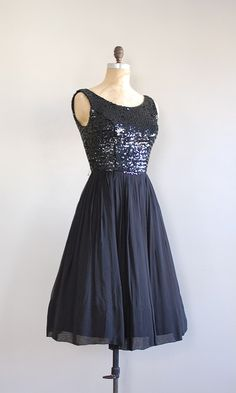 a stunning vintage party dress