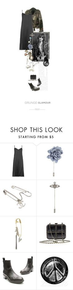 """""""Sur Sa Veste De Cuir / On His Leather Jacket"""" by halfmoonrun ❤ liked on Polyvore featuring WALL, Nina Ricci, Lanvin, Chanel, Vivienne Westwood, Sonia Rykiel, Tiffany & Co. and pins"""