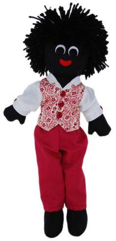 Lucas Golly Doll -30cm http://www.thelookathome.com.au/shop/item/lucas-golly-doll-30cm