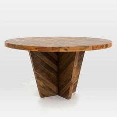 Brown Alexa Round Dining Table