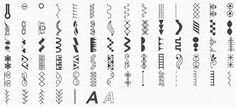 bernina 350 PE stitches - Google Search