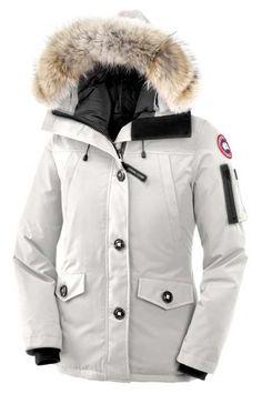 Canada Goose Montebello Parka White Womens $318