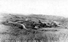 Pierce CC: Topanga Canyon Boulevard circa 1921