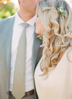 #hairstyles  Photography: Lexia Frank Photography - www.lexiafrank.com  Read More: http://www.stylemepretty.com/2014/01/09/bohemian-inspired-california-wedding-at-holly-farm/