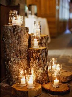 The Awesometastic Bridal Blog: Natural Wedding Decor