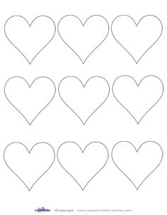 graphic relating to Printable Heart Cutouts identify 72 Simplest Valentine Printables pics inside 2015 Valentine