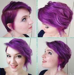 I had similar side-cut bob, loved it. I also had this colour of hair, at different time!