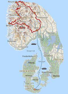 13-daagse rondreis Noorwegen · Pharos Reizen