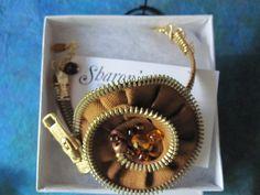 $18 Zipper Bracelet by SharonsJewelrywat on Etsy