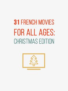 """Right on time. Discover 31 new French Movies. I tried to share with you some """"Christmas"""" movies. Let me know if you watched some of these movies. http://www.talkinfrench.com/french-movies-christmas/ Don't hesitate to share."""