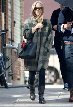 Le look d'hiver d'Amanda Seyfried