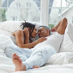 Feel like you never have a free moment with your partner? Hitting the sack at the same time can help. | Health.com #relationships