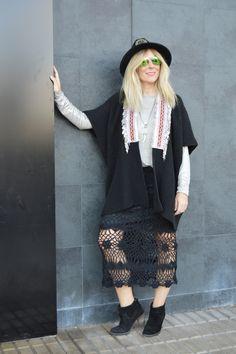 Autumn Crochet Skirt by FreeLove Ibiza available at Ibiza Trendy