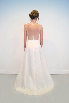 Illusion open back wedding gown - Lockwood | Emily Kotarski Bridal