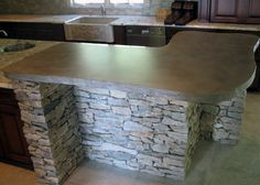 concrete countertop