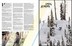 #editorialdesign #layout #magazine #surf #snowboard #lifestyle #girls #design #typo #logo #design #editorial #surfgirl #snow #grafikdesign