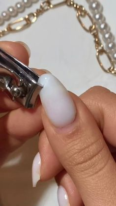 Simple Acrylic Nails, Best Acrylic Nails, Acrylic Nail Designs, Nail Art Hacks, Nail Art Diy, Nail Art Designs Videos, Fire Nails, Minimalist Nails, Stylish Nails