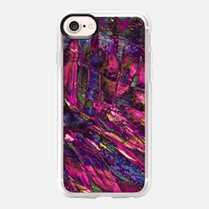 """ENTRANCED 4"" By Artist Julia Di Sano, Ebi Emporium on @Casetify #EbiEmporium #mermaid #hotpink #casetifyartist #casetify #magenta #pink #girly #iphonecase #tech #phonecase #colorful #case #summer #musthave #purple #neon #underwater #trendy #samsung #chic #iphone6 #iphone7 #iphone7plus"
