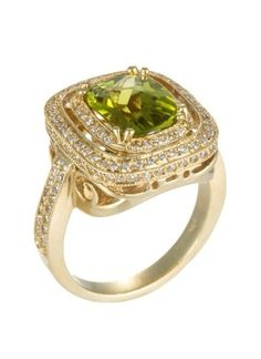 legacy emerald ring ♥-not an emerald. It is a peridot. Gorgeous!