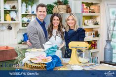 Last month I had the opportunity to be a guest on Hallmark's Home and Family show in California. The show loved our Breakfast of Champions menu at Jenny Cookies Bake Shop and asked if Home And Family Tv, Home And Family Hallmark, Hallmark Homes, Family Show, Jenny Cookies, I Kid You Not, Breakfast Of Champions, Instagram Handle, Hallmark Channel