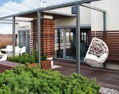 TARAS NA DACHU - Średni taras na dachu, styl nowoczesny - zdjęcie od BE2 Studio