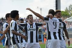 Juve sit top of Serie A and are now four points clear of Napoli, who have 14 points