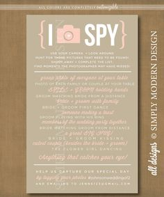 I Spy PRINTABLE by xSimplyModernDesignx on Etsy, $10.50