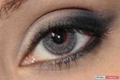 FreshLook ColorBlends Sterling Gray cosmetic coloured contact lens. http://www.eyecandys.com/freshlook-colorblends-sterling-grey/