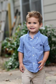 Toddler Boy Haircut and Summer Style