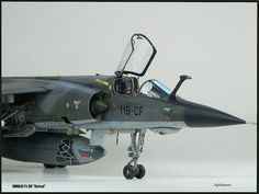 """Mirage F1 CR """"Serval"""" Mirage F1, Dassault Aviation, Serval, Model Airplanes, Scale Models, Fighter Jets, Aircraft, Military, Top Gun"""