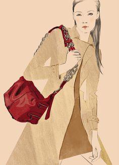 ilustrações fashion -