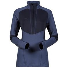 Roni Lady Half Zip Fleece Pullover, Sweatshirt, Color Blocking, Long Sleeve, Sleeves, Swimwear, Collections, Products, Fashion