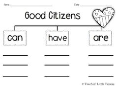 Good Character Traits Free Printable with a Spoonful of