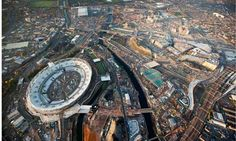 The Olympic Park, east London: urban renewal is a vaunted part of the games' purpose. Photograph: David Levene for the Guardian