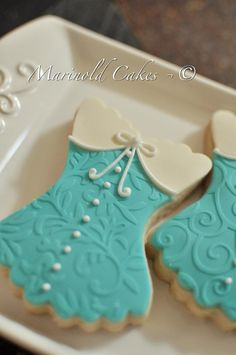 Bridal Shower Corset Cookie Favor- 1 Dozen Cookie Favors, Wedding Cookies,  Bridal Shower Cookies, BridesMaids' Gifts on Etsy, $39.00