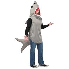 Sand Shark Costume for Adults - OrientalTrading.com