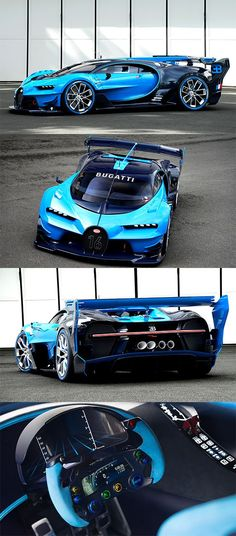 The Bugatti Vision Gran Turismo Concept Is a Real-Life Video Game Supercar  Car Share and enjoy! #amolatina